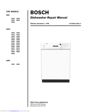 Bosch SHU 5314 Repair Manual