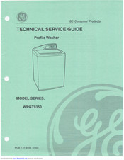 GE Profile WPGT9350 Technical Service Manual