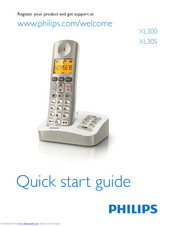 Philips XL300 Quick Start Manual