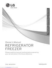 LG REFRIGERATOR Owner's Manual