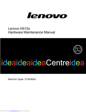 Lenovo 0126/90A5 Maintenance Manual