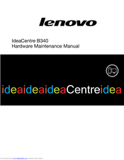 Lenovo IdeaCentre B340 Maintenance Manual
