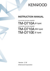 Kenwood RC-D710 Instruction Manual