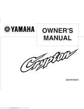 YAMAHA CRYPTON T105E/SE OWNER'S MANUAL Pdf Download | ManualsLibManualsLib