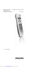 Philips SRP 3004/53 User Manual