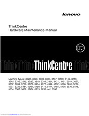 Lenovo ThinkCentre Hardware Maintenance Manual