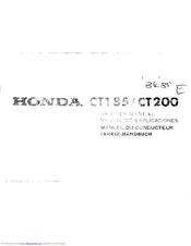 Honda Ct200 Manuals Manualslib