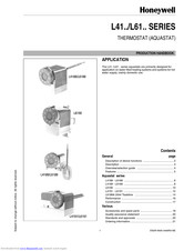 Honeywell L4189 Product Handbook