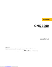 Fluke CNX i3000 User Manual