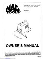 Mac mw130 parts manuals