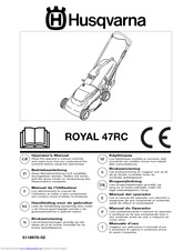 Husqvarna Royal 47RC Operator's Manual