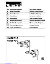 Makita HM0870C Instruction Manual