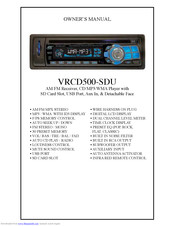 VIRTUAL REALITY VRCD500-SDU OWNER'S MANUAL Pdf Download. on