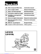 Makita LS1018 Instruction Manual