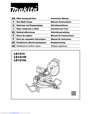 Makita LS1214 Instruction Manual