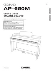 Casio AP-650M User Manual