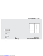 Viking VCSB5481 Series Installation Manual