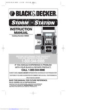 Black & Decker Storm Station SS925 Instruction Manual