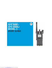 Motorola Astro APX 6000Li Series User Manual