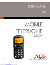 AEG M 300 User Manual