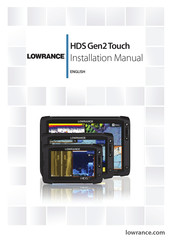 Lowrance Hds Gen2 Touch Installation Manual Pdf Download