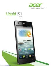 Acer Liquid E2 Manuals