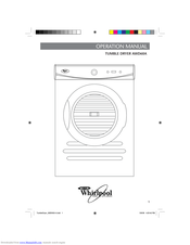 Whirlpool AWD60A Operation Manual