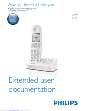 philips D400 User Documentation Files
