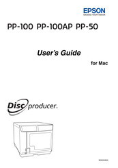 Epson Disc Producer PP-100 User Manual
