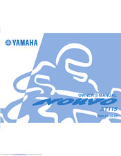 YAMAHA NOUVO AT115 Owner's Manual
