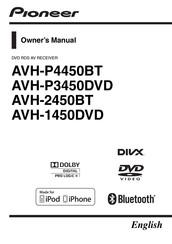 Pioneer Avh 2450bt Owner S Manual Pdf Download Manualslib