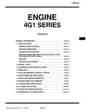 Mitsubishi 4g15 Manuals Manualslib