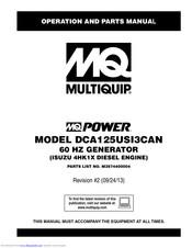 multiquip dca125usi3can manuals | manualslib  manualslib