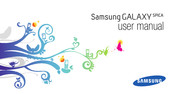 Samsung Galaxy Spica User Manual
