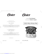 Oster 5715 User Manual