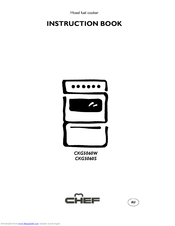 Electrolux Chef CKG5060S Instruction Book