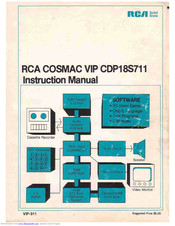 RCA COSMAC VIP CDP18S711 Instruction Manual