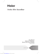 Haier SBEV40-SLIM User Manual