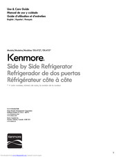 Kenmore 106.4112 Series Use & Care Manual