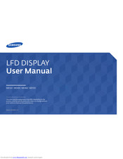 Samsung MD32C User Manual
