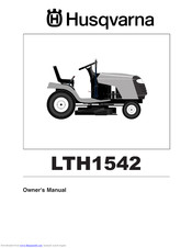 HUSQVARNA LTH1542 Owner's Manual