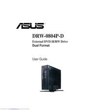 ASUS DRW-0804P-D User Manual
