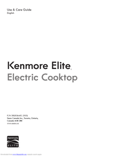 "Kenmore Elite 30"" Use & Care Manual"