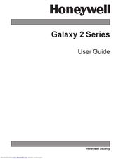 Honeywell Galaxy 2 Series User Manual