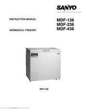 Sanyo MDF-436 Instruction Manual