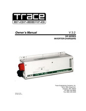 trace engineering dr series owner's manual pdf download | manualslib  manualslib
