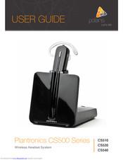 Plantronics Cs510 User Manual Pdf Download Manualslib
