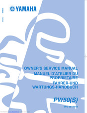 YAMAHA PW50(S) Owner's Manual