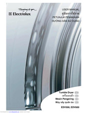 Electrolux EDV500 User Manual
