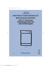 Electrolux EDC 5339 Instruction Booklet